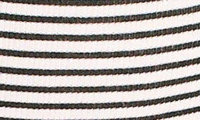 Black/ White Rib swatch image