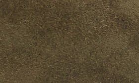 Olive Suede Leather swatch image