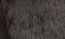 Black Rabbit Fur Suede swatch image