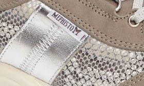 Light Grey Nubuck Leather swatch image