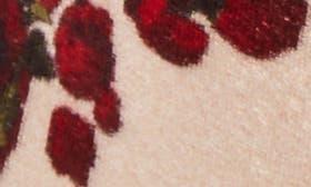 Nude Floral Velvet swatch image