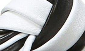 Black / Ivory/ Powder swatch image