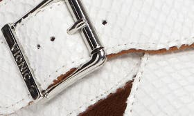 White Snake Faux Leather swatch image