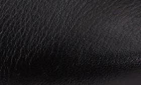 Black Milled Nappa Leather swatch image
