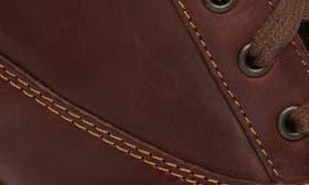 Dark Tan Nubuck Leather swatch image