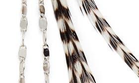 Silver/ Stripe swatch image