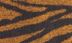 Brown Buckthorn Abstract Zebra swatch image