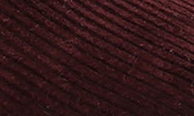 Bordeaux Cord Fabric swatch image