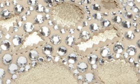 Platino Metallic Suede swatch image
