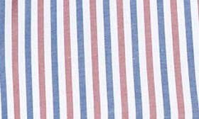 White / Brown/ Blue Stripe swatch image