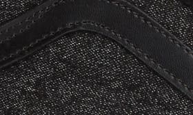 Black Suede/Suiting swatch image