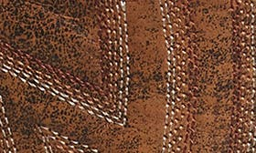 Natural Norwood Leather swatch image