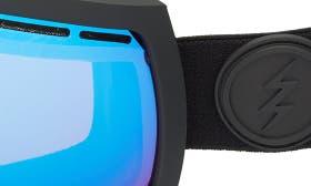 Matte Black/ Blue Chrome swatch image