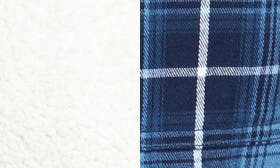 Natural/ Navy Plaid swatch image