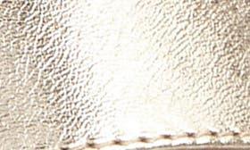 Metallic White Gold Leather swatch image
