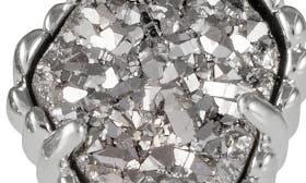 Rhodium/ Platinum Drusy swatch image