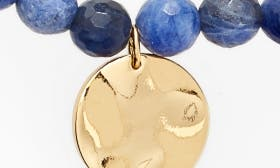 Sodalite/ Gold swatch image
