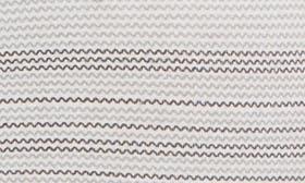 Grey- Black Zig Zag Stripe swatch image