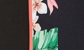 Black/ Flower swatch image