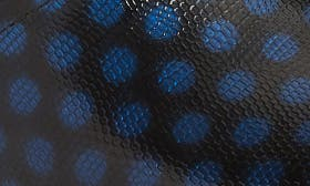 Polka Dot Patent Leather swatch image