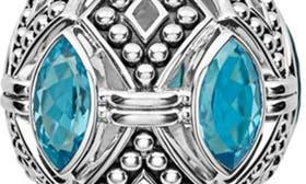 Silver/ Blue Topaz swatch image