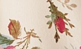 Ivory Print/ Multi Print swatch image