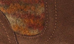 Pecan Fuzzy Leather swatch image
