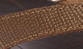 Bronze/ Dark Java Leather swatch image