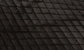 Black Textured Leather swatch image