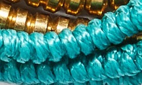 Turquoise/ Gold swatch image