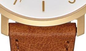 Saddle/ White/ Gold swatch image