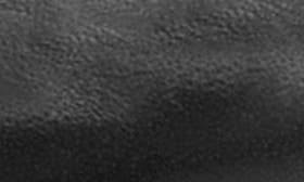 Black Full Grain Leather swatch image