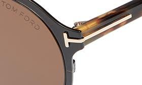 Shiny Black / Brown swatch image