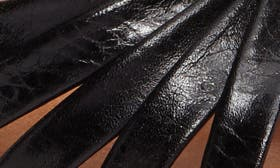 Coal Leather swatch image
