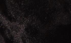 Black Velvet Fabric swatch image