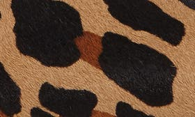 Cognac/ Black Calf Hair swatch image