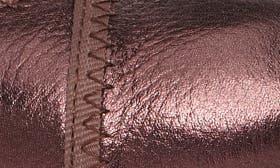 Chianti Metallic Leather swatch image