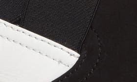 Black White Nubuck swatch image