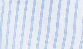 White/ Blue Stripe swatch image