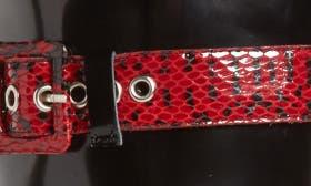 Red-Black/ White Snake/ Multi swatch image