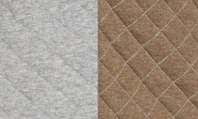 Med Grey Htr/ Army Htr Quilted swatch image
