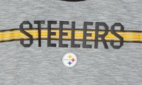 Grey Heather/ Steelers swatch image