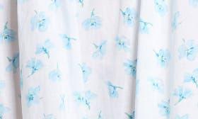 White Aqua Floral swatch image