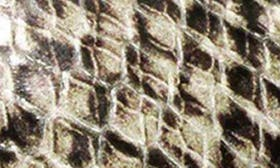 Beige Snake Print Leather swatch image