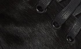 Black Fur Leather swatch image