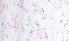White Floral Scroll swatch image