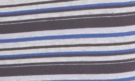 Grey- Blue Variegated Stripe swatch image