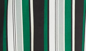 Green White Stripe 1166 swatch image