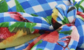 Blue Floral Fabric swatch image