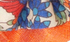 Flrl Rhapsdy Orange Blue Nectr swatch image